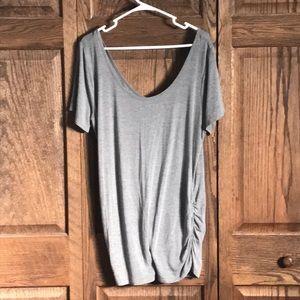 Maurices XL 24/7 off shoulder T-shirt